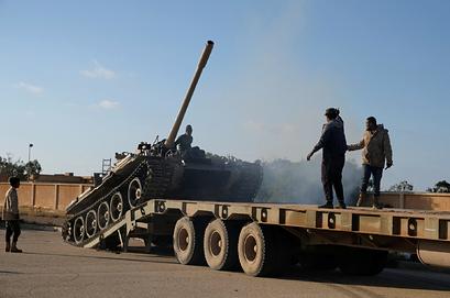 Армия Хафтара начала подготовку к наступлению после переговоров в Москве