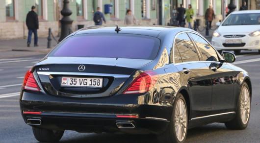 МВД: у полиции нет цели  выдворять авто с иностранными номерами из страны