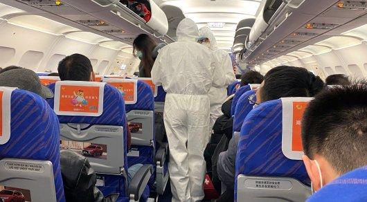 Самолет, перевозивший пассажира с коронавирусом, прибыл в Алматы