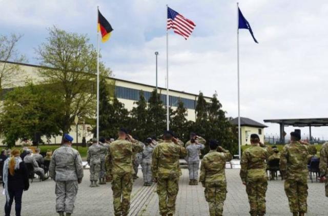 На авиабазе в Германии найдены мертвыми двое американских солдат
