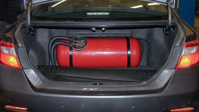 Машины на газе обяжут вывешивать специальный знак