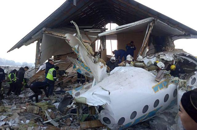 Умер второй пилот разбившегося самолета Bek Air