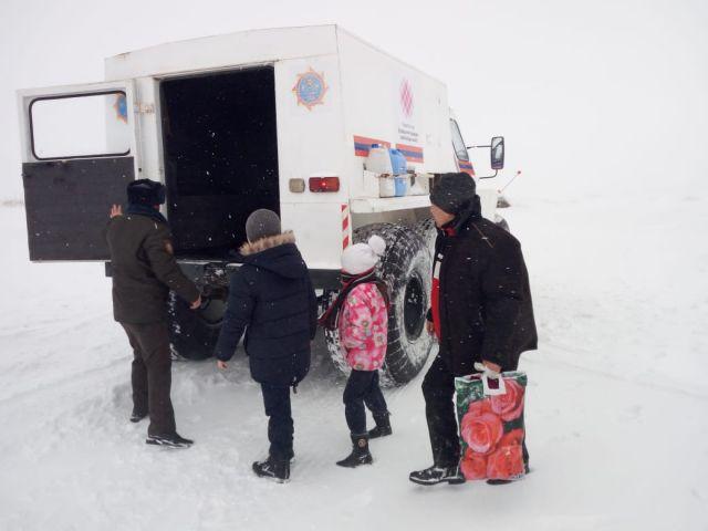 Как спасали актюбинцев из снежного плена