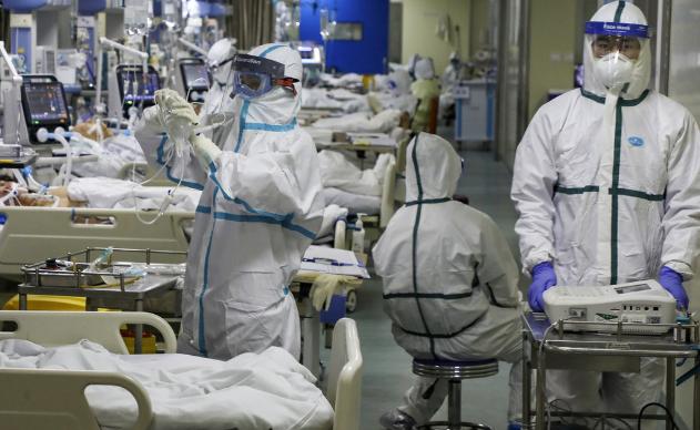 """Количество жертв """"китайской"""" пневмонии в Хубэе выросло до 871 человека"""