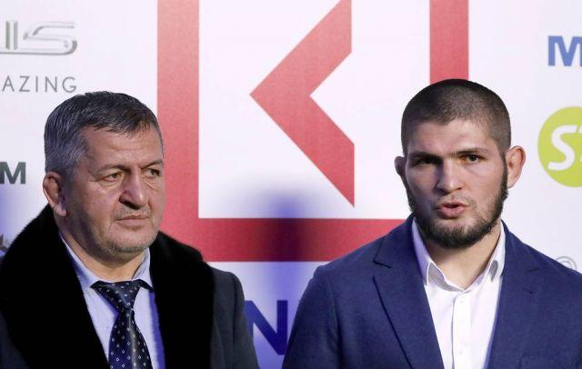 Отец Хабиба Нурмагомедова рассматривает для сына максимум три боя до окончания карьеры