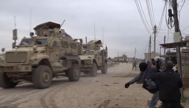 Конфликт с участием солдат армии США в Сирии сняли на видео