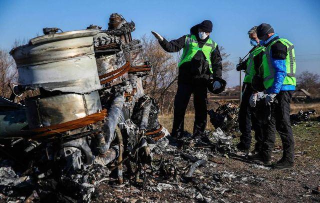 """В Нидерландах установили, что в районе крушения MH17 не было ни одного комплекса """"Бук"""""""