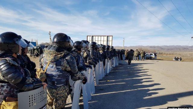 МВД: По событиям в Кордае заведено 90 уголовных дел