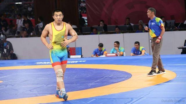 Казахстанец Данияр Кайсанов стал чемпионом Азии по вольной борьбе