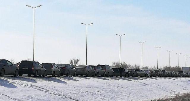 Актюбинские водители автомашин с иностранным учётом записали видеообращение к Правительству
