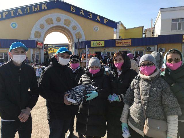 В Актобе установили максимальные цены на медицинские маски