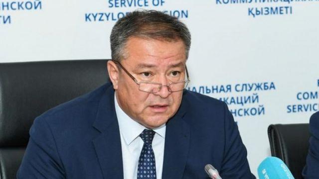 Сообщения о задержании акима Кызылординской области появились в Сети