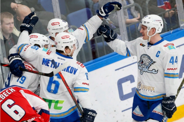 «Барыс» оштрафован за накрутку голосов в виртуальном плей-офф КХЛ