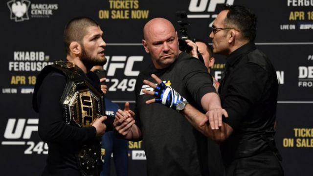 UFC нашла замену Хабибу на бой с Фергюсоном