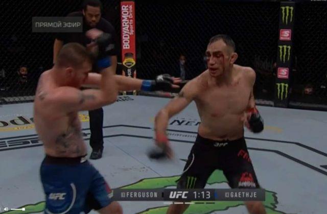 Джастин Гэтжи нокаутировал Тони Фергюсона на UFC 249