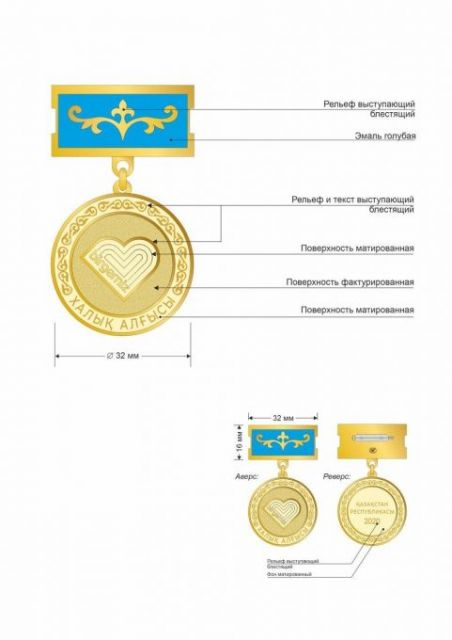 В Казахстане появится медаль за борьбу с коронавирусом