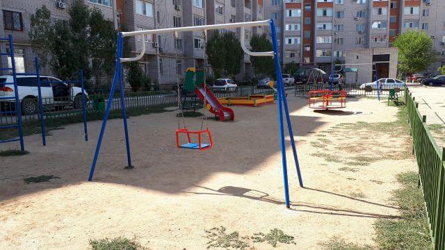 О благоустройстве дворов и детских площадок в Актобе