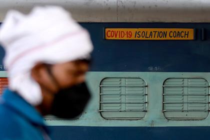 Рекордное число людей умерло от коронавируса за сутки в Индии