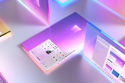 Представлен новый дизайн Windows