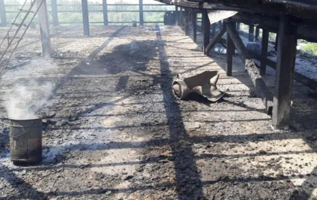 О подробностях пожара со взрывом рассказали в ДЧС Алматы