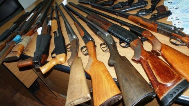 Оружие изъяли на блокпосту у жителя Актюбинской области