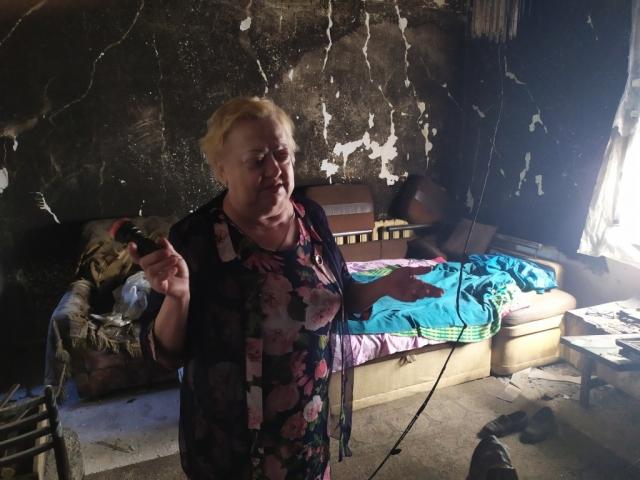 Пожар в грозу уничтожил дом актюбинских пенсионеров