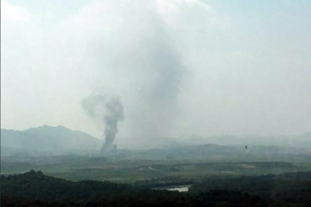 Южнокорейское министерство объединения подтвердило взрыв здания в Кэсоне