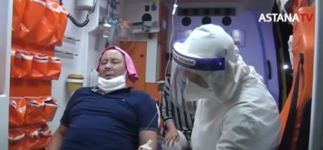 Больные пневмонией умирают на пороге больницы в Шымкенте