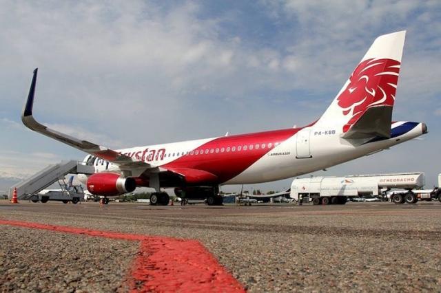 Молния ударила в самолёт в Павлодаре
