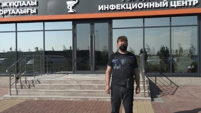 Приехавший в Казахстан российский врач рассказал о борьбе с COVID-19