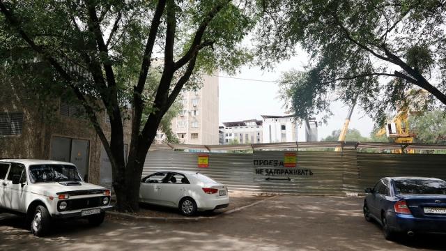 Алматинцы выступили против строительства жилого дома в центре города