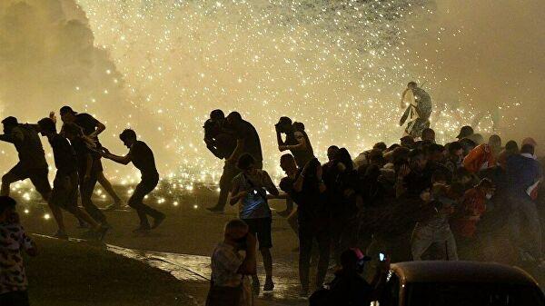 Протестующие разошлись из центра Минска