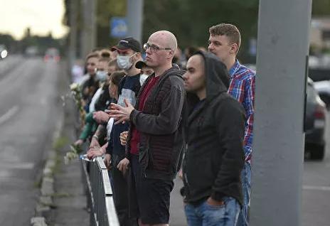 В Белоруссии завершился четвертый день протестов