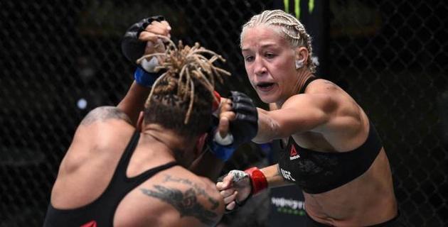 """""""Я не считаю это поражением"""". Мария Агапова прокомментировала свой сенсационный проигрыш во втором бою в UFC"""