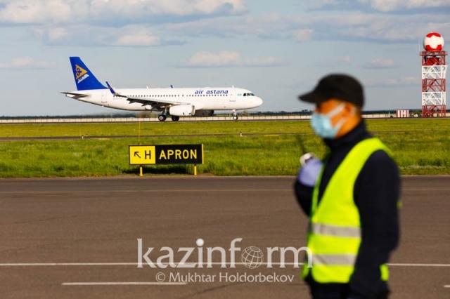 Казахстан возобновляет международные перелеты с 17 августа