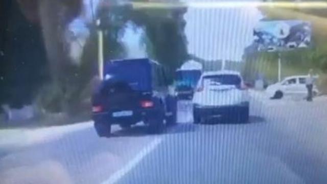 """Лихача на """"Гелендвагене"""" нашли полицейские"""