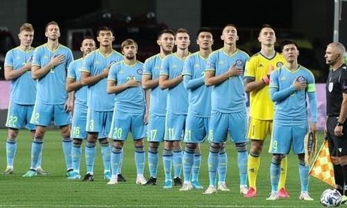 Сборная Казахстана вышла в лидеры группы Лиги наций