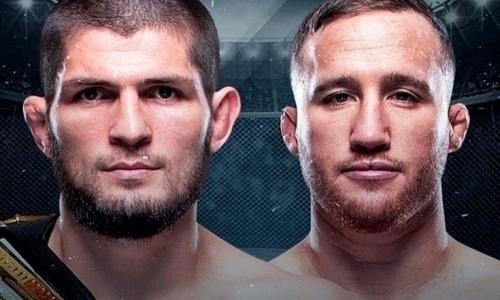 В UFC официально представили основной кард турнира с главным боем Хабиб — Гэтжи