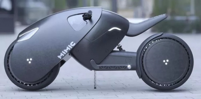 Российский дизайнер создал концепт электробайка будущего