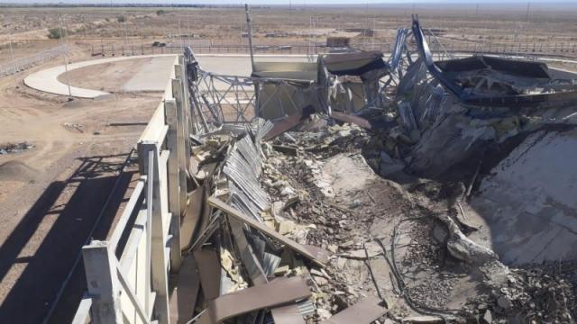 Строящийся спортивный комплекс рухнул в Чундже