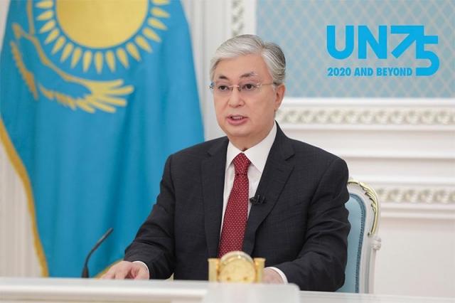Президент Казахстана выступил на мероприятии высокого уровня в честь 75-летия ООН