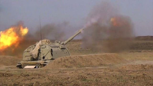 Азербайджан заявил о разгроме позиций двух батальонов ВС Армении