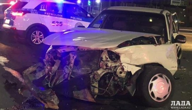 В Актау в результате ДТП пострадали шесть человек