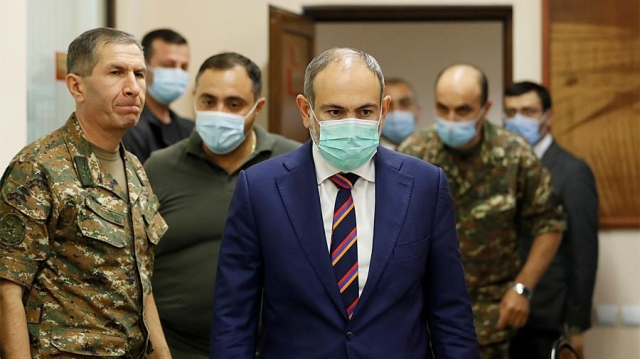 Пашинян отверг идею ввода миротворцев в зону конфликта в Нагорном Карабахе