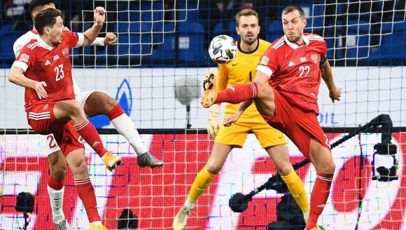 Сборная России сыграла вничью с командой Турции в матче Лиги наций УЕФА