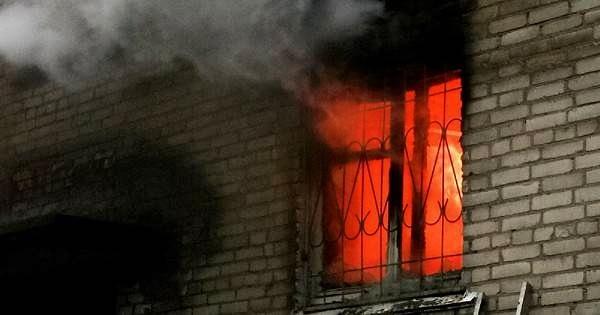 В Шалкаре во время пожара погиб жилец многоэтажки