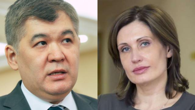 В Минздраве не знают, где теперь работают Биртанов и Бюрабекова