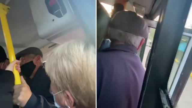 Видео давки в автобусе прокомментировали в акимате Алматы