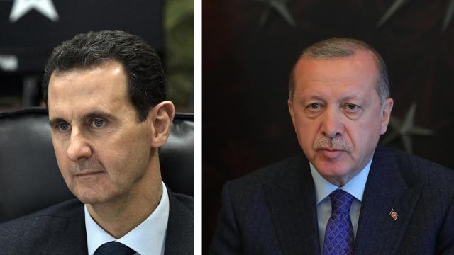 Асад считает Эрдогана главным подстрекателем эскалации конфликта в Карабахе