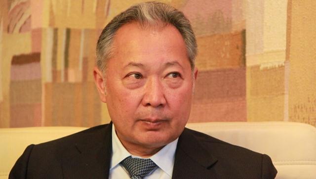 Экс-президент Киргизии Бакиев прокомментировал события в республике